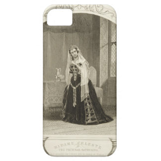 Madame Celeste as the Princess Katherine, Act V Sc iPhone SE/5/5s Case