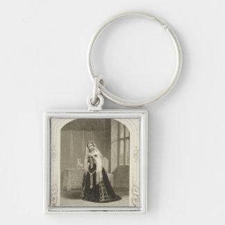 Madame Celeste as the Princess Katherine, Act V Sc Keychain