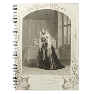 Madame Celeste as the Princess Katherine, Act V Sc Spiral Note Books