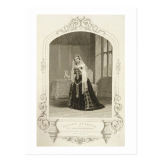 Madame Celeste as the Princess Katherine, Act V Sc Postcard