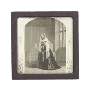 Madame Celeste as the Princess Katherine, Act V Sc Premium Keepsake Box