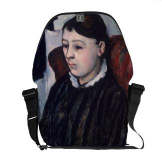 Madame Cezanne, c.1883-85 (oil on canvas) Courier Bag