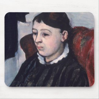 Madame Cezanne, c.1883-85 (oil on canvas) Mouse Pad