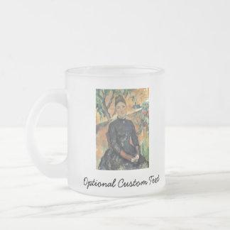 Madame Cezanne Frosted Glass Coffee Mug