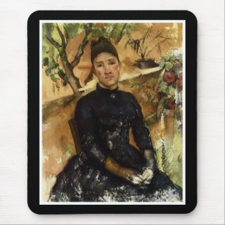 Madame Cezanne in the Conservatory Mouse Pad