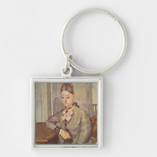 Madame Cezanne Leaning on a Table, 1873-77 Key Chains