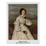 Madame Charmois By Jean-Baptiste Camille Corot Posters