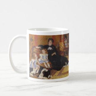 Madame Charpentier and her children by Renoir Coffee Mug
