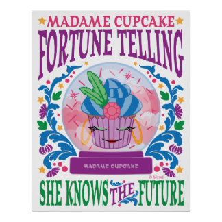 Madame Cupcake Fortune Telling Posters