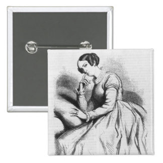 Madame de Bargeton Pinback Button