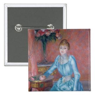 Madame de Bonnieres, 1889 Pinback Buttons