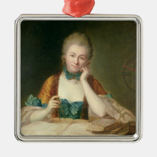 Madame de Chatelet-Lomont Metal Ornament