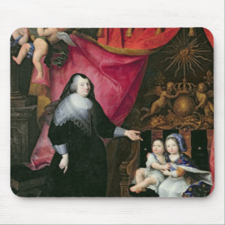 Madame de Lansac  and the Children of France Mousepad