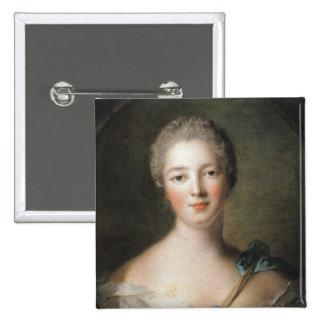 Madame de Pompadour  1748 Button