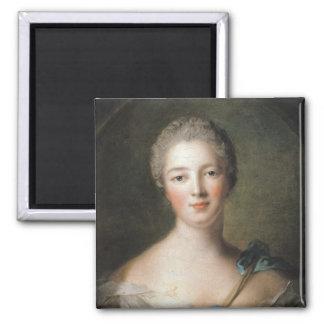 Madame de Pompadour  1748 Magnet