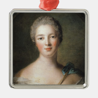 Madame de Pompadour  1748 Metal Ornament