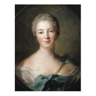Madame de Pompadour  1748 Postcard