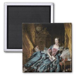 Madame de Pompadour, 1756 Imán Cuadrado