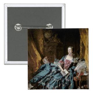 Madame de Pompadour, 1756 Pin Cuadrado