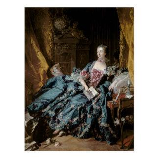 Madame de Pompadour, 1756 Postales