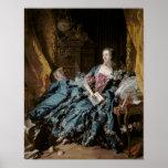 Madame de Pompadour, 1756 Póster