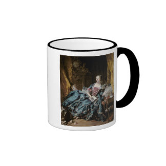 Madame de Pompadour, 1756 Taza A Dos Colores