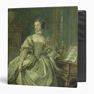 Madame de Pompadour 3 Ring Binder