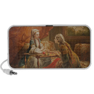 Madame de Pompadour en el papel del adivino Altavoz De Viajar