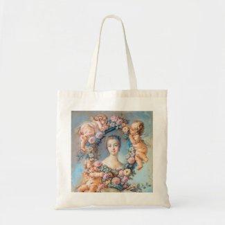 Madame de Pompadour François Boucher rococo lady Canvas Bags