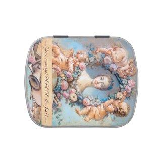 Madame de Pompadour François Boucher rococo lady Jelly Belly Candy Tins