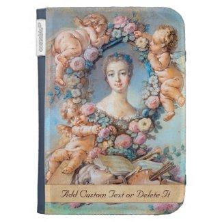 Madame de Pompadour François Boucher rococo lady Kindle Case