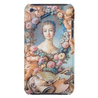 Madame de Pompadour François Boucher rococo lady iPod Case-Mate Case