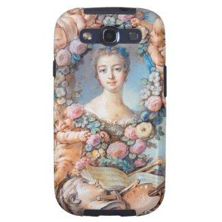 Madame de Pompadour François Boucher rococo lady Samsung Galaxy SIII Covers