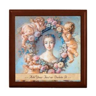 Madame de Pompadour François Boucher rococo lady Trinket Box