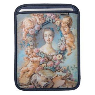 Madame de Pompadour François Boucher rococo lady Sleeve For iPads