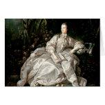 Madame de Pompadour Greeting Card