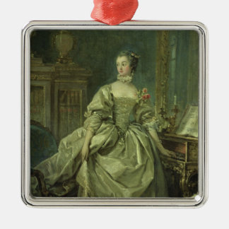 Madame de Pompadour Metal Ornament