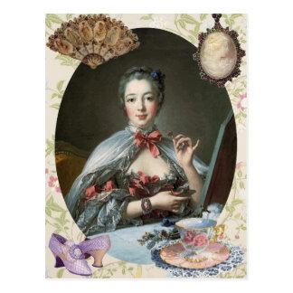 Madame de Pompadour Postcards
