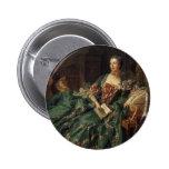 Madame de Pompadour Speldbutton