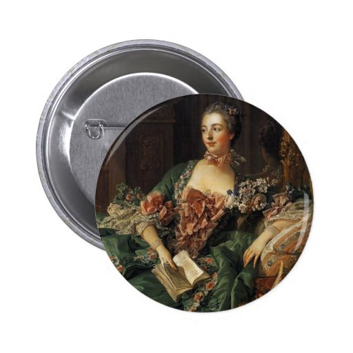 Madame de Pompadour Speldbuttons