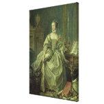 Madame de Pompadour Stretched Canvas Prints