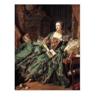 Madame de Pompadour Tarjeta Postal
