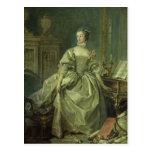 Madame de Pompadour Tarjetas Postales