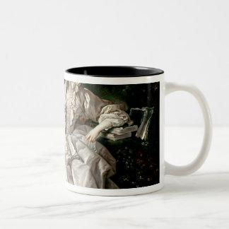 Madame de Pompadour Two-Tone Coffee Mug