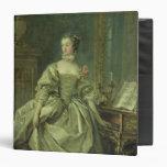 Madame de Pompadour Vinyl Binders