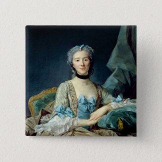 Madame de Sorquainville, 1749 Pinback Button