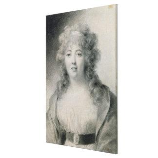 Madame de Stael  1810 Canvas Print