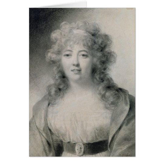 Madame de Stael  1810 Card