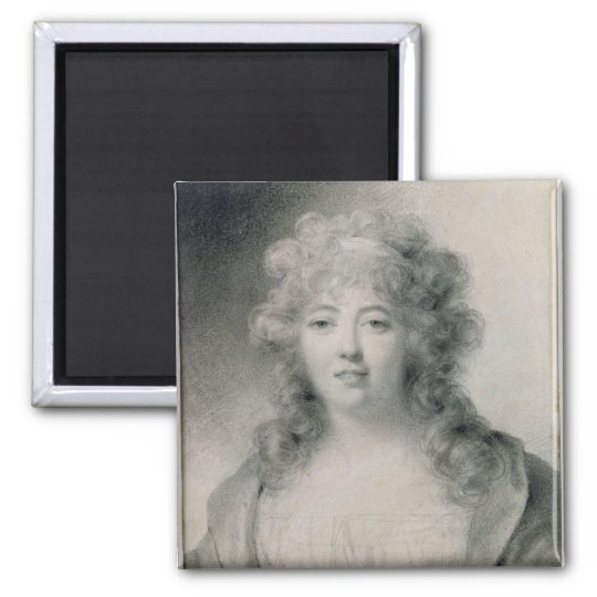 Madame de Stael  1810 Magnet