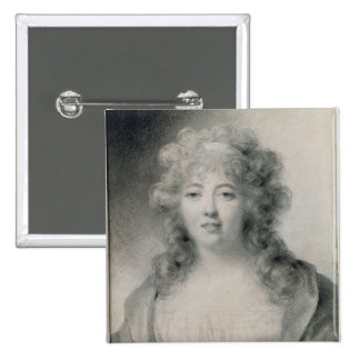Madame de Stael  1810 Pinback Button